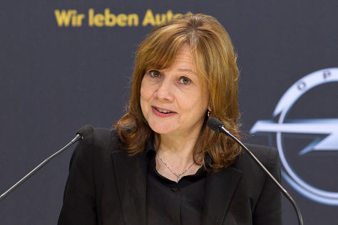 Opel-Wegweiser in Rüsslsheim