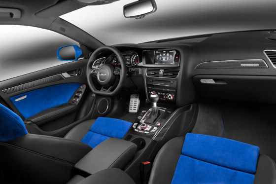 Audi RS 4 Nogaro Selection Innenraum