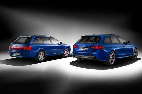 Audi RS 4 Nogaro Selection und Audi RS 2 in Nogaroblau