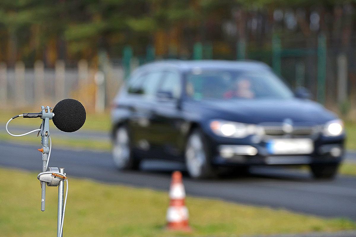 BMW 3er Touring, AUTO BILD-Sommerreifen-Test 2014, Geräuschmessung