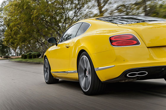 So fährt der neue Bentley-V8