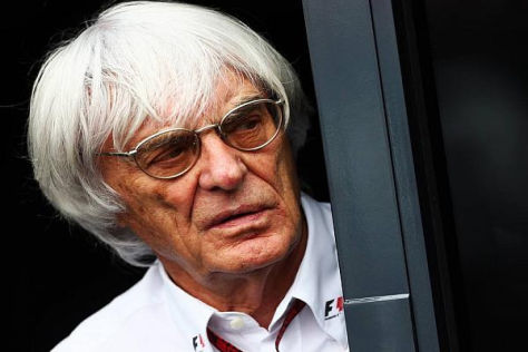 Formel-1-Chef Bernie Ecclestone denkt für 2015 über Formel-1-