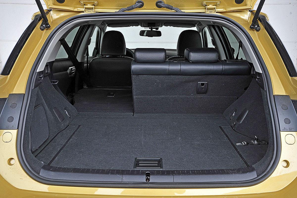 Lexus CT 200h: Kofferraum