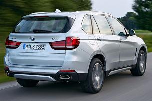 Flotte Ausfahrt im Öko-BMW
