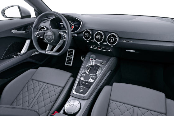 Audi TT virtual Cockpit (2014)