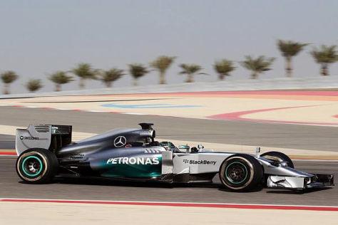 Rosberg und Mercedes beendeten die Woche trotz zweier Probleme eindrucksvoll