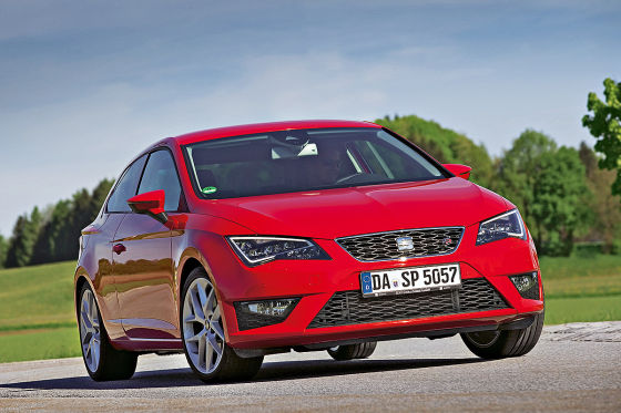Seat Leon Illustration