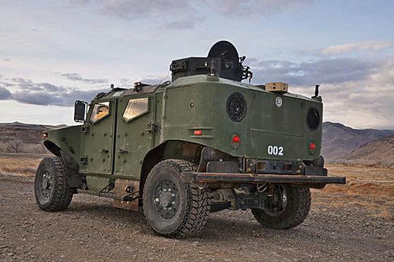 Panzerwagen mit Subaru-Power