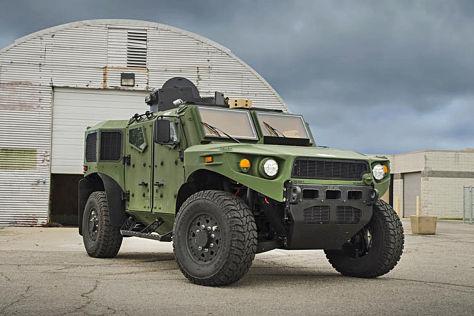 TARDEC ULV: Panzerwagen mit Subaru Boxer-Diesel; gepanzert ...