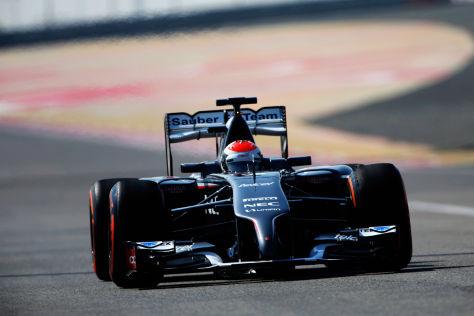 Bei Adrian Sutil und Sauber läuft es noch nicht nach Wunsch