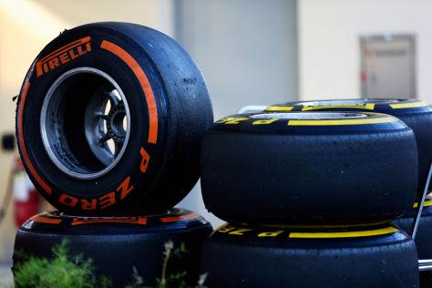 Beim Testfinale in Bahrain werden Reifen und Köpfe rauchen