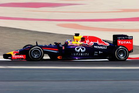 Sebastian Vettel und Red Bull hoffen in Bahrain auf eine Trendwende