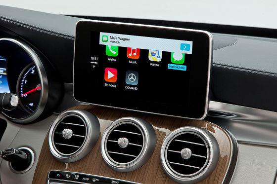 Mercedes: CarPlay-App bringt iOS