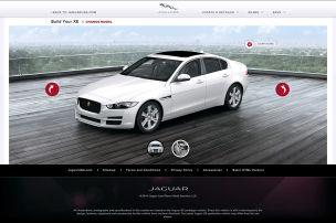 Konfigurator für den Jaguar XE