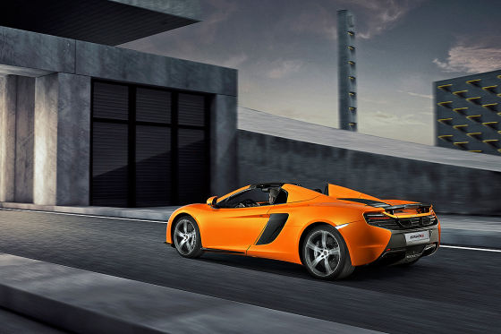 mclaren 650s spider: genfer autosalon 2014 - autobild.de