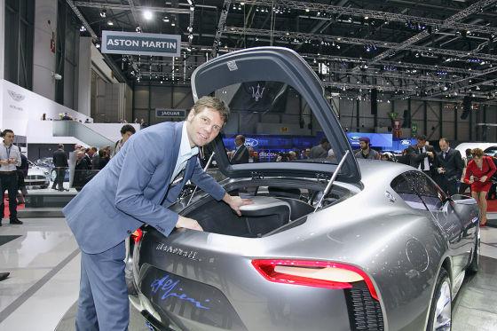 Maserati Alfieri  Kofferraum