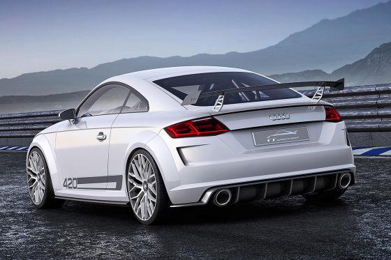 Audi zeigt den Über-TT