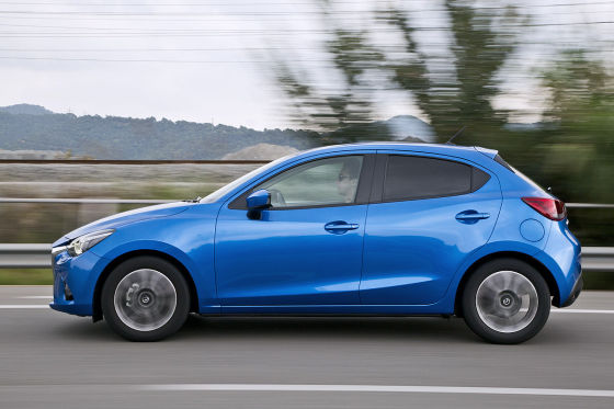 So fährt der neue Mazda2