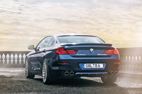BMW Alpina B6 Bi-Turbo Gran Coupé: Genf 2014