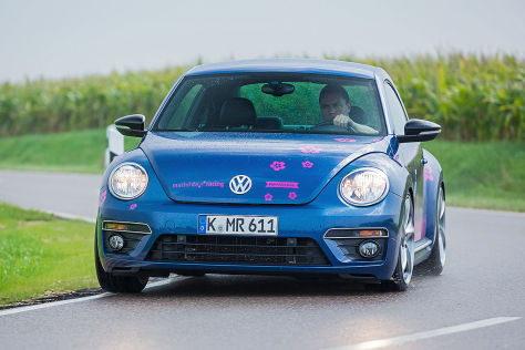 tuning: mathilda racing beetle 2.0 tsi im test - autobild.de
