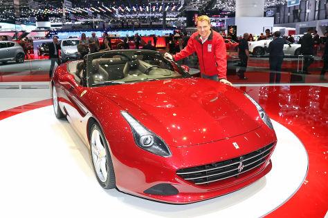 Ferrari California T Genf 2014 Sitzprobe Autobild De