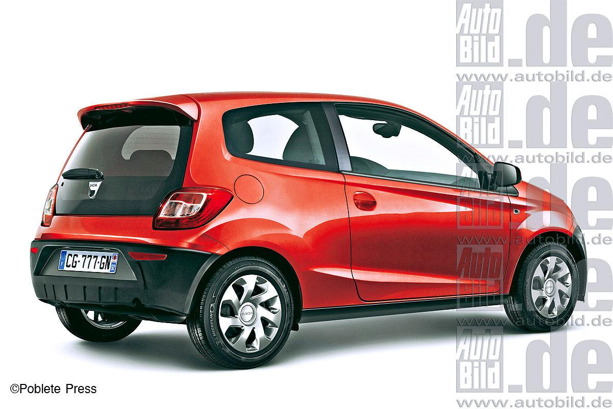 Dacia Kleinstwagen für 5000 Euro auf Renault Twingo-Basis