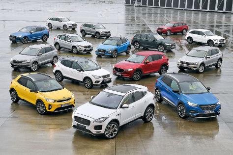 Kaufberatung 100 Suvs Und Geländewagen In Sieben Klassen Autobildde