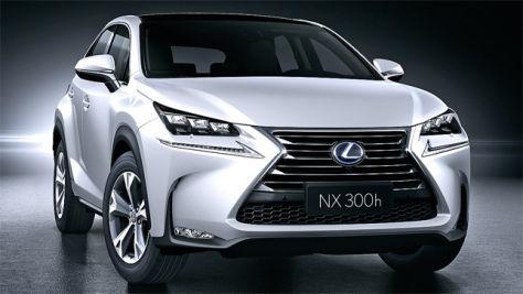 Lexus NX 300h: Peking Auto Show 2014