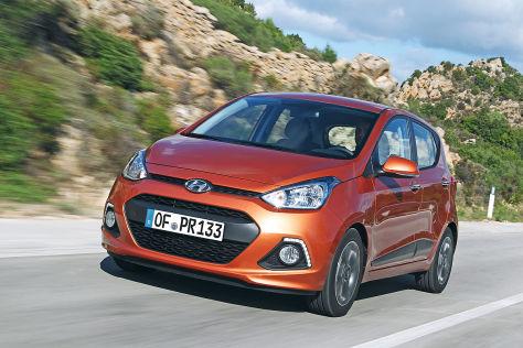 Hyundai i10 LPG: Ab Werk mit Flüssiggas