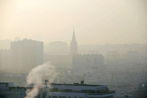 So schlecht ist die Luft in Paris