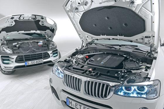 BMW X4 Porsche Macan
