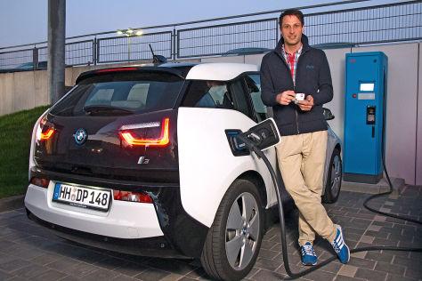 Schnellladesäule für Elektro-BMW i3