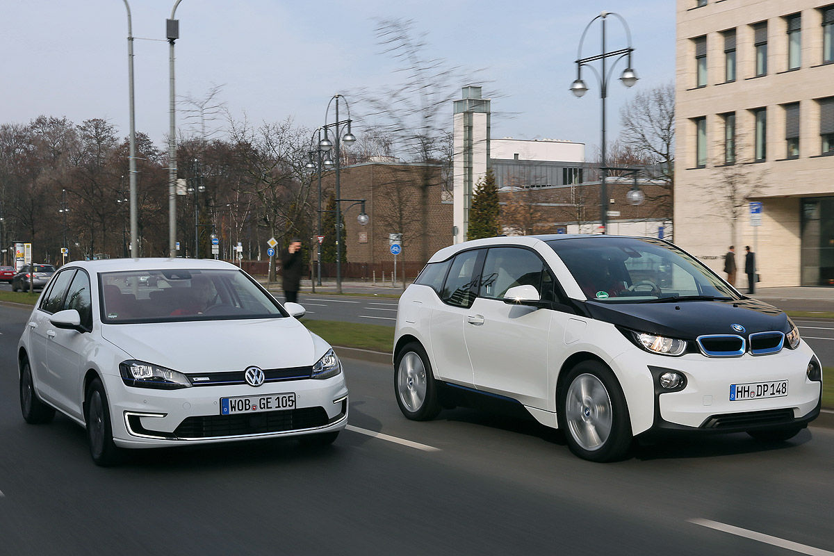 BMW i3 VW E-Golf