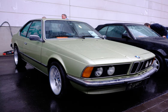 BMW 633 CSI auf der Techno Classica