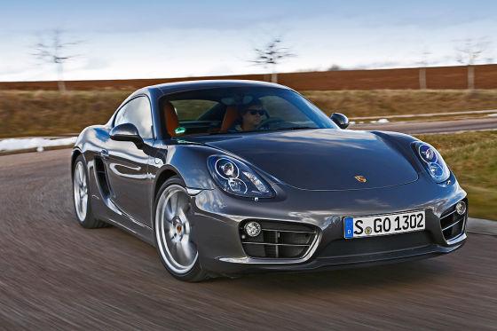 Porsche Camyman grau Frotnansicht
