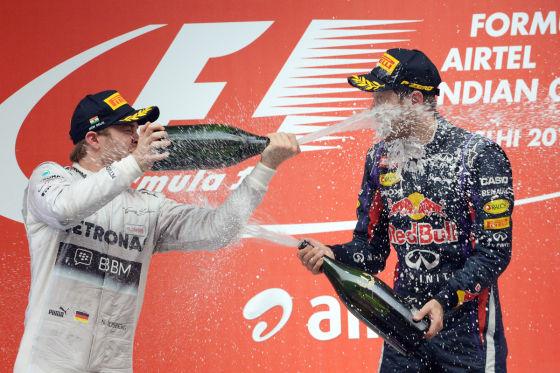 Rosberg & Vettel: Duell in der Hitzehölle