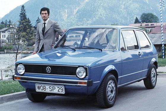 Entwurf von Giorgetto Giugiaro VW Golf