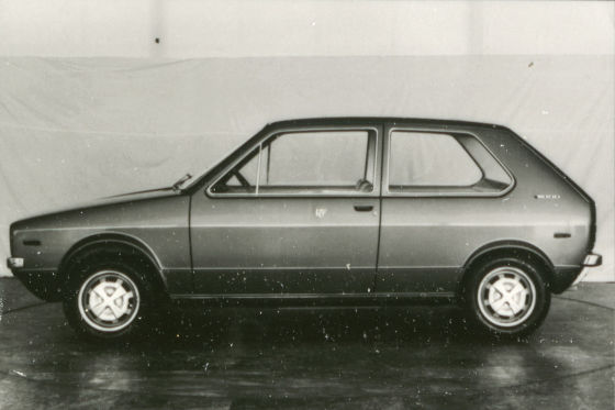 VW Golf Designenwurf Giugiaro