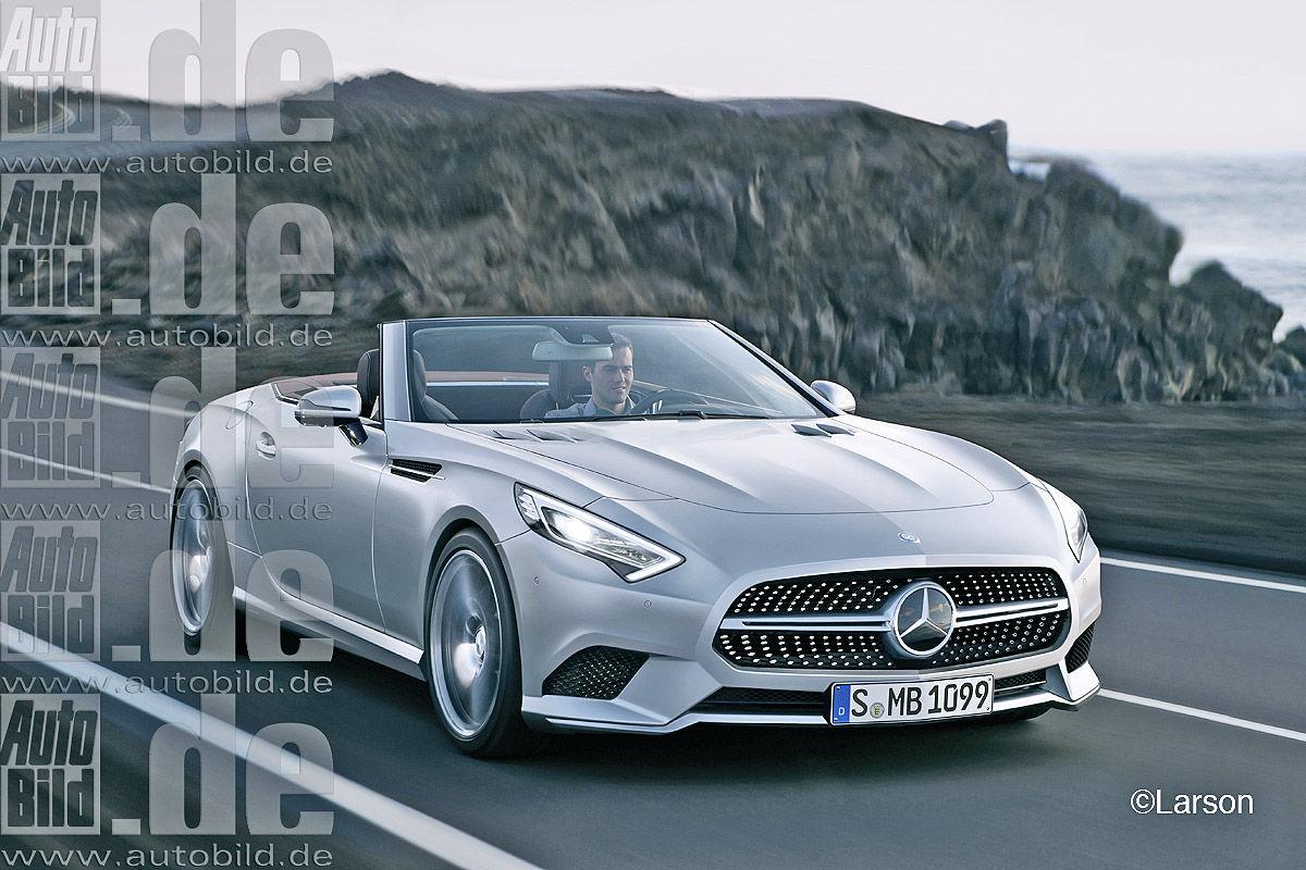 Neuer Mercedes Slk Und Sl 2020 2021 Bilder Autobild De