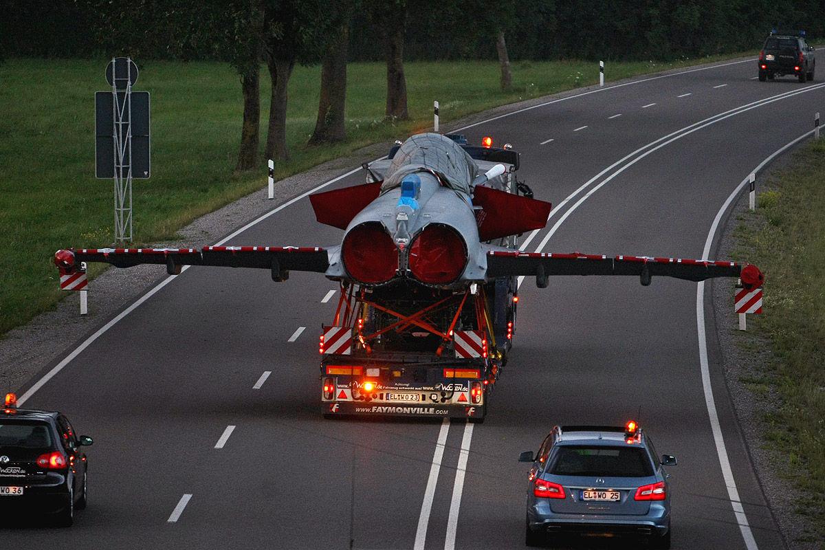 Eurofighter Schwertransport