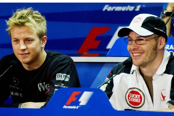Kimi Räikkönen & Jacques Villeneuve