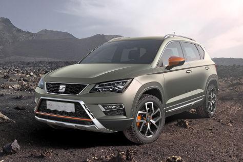 Seat Ateca X Perience 2016 Vorstellung Motoren Preise
