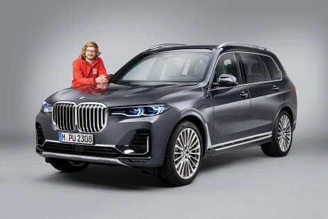 Bmw X7 G07 2019 Review Price M50d Dimensions Boot How To