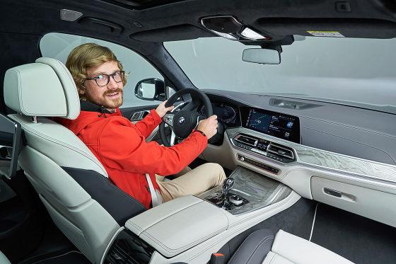 BMW 7er als Luxus-SUV