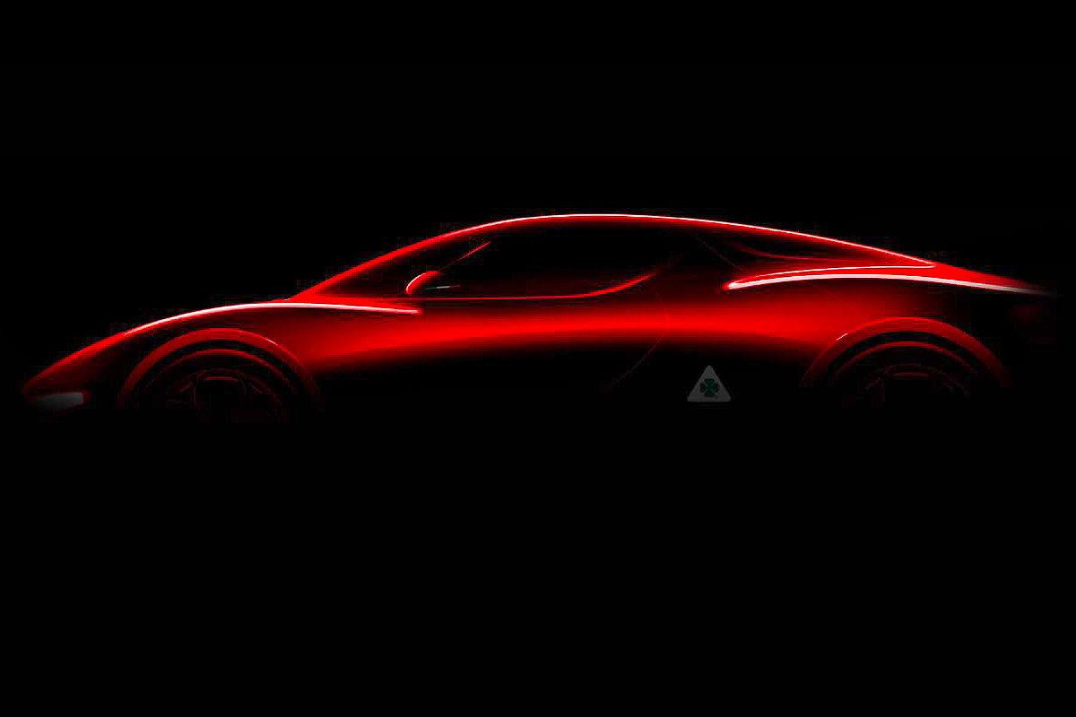 Alfa Romeo Brera Illustration