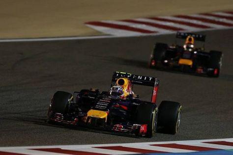Daniel Ricciardo konnte seinen Teamkollegen Sebastian Vettel schlagen