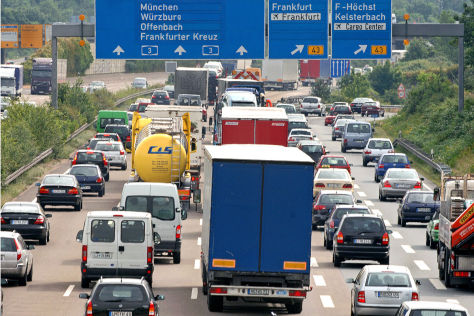 Planung für die Autobahnen