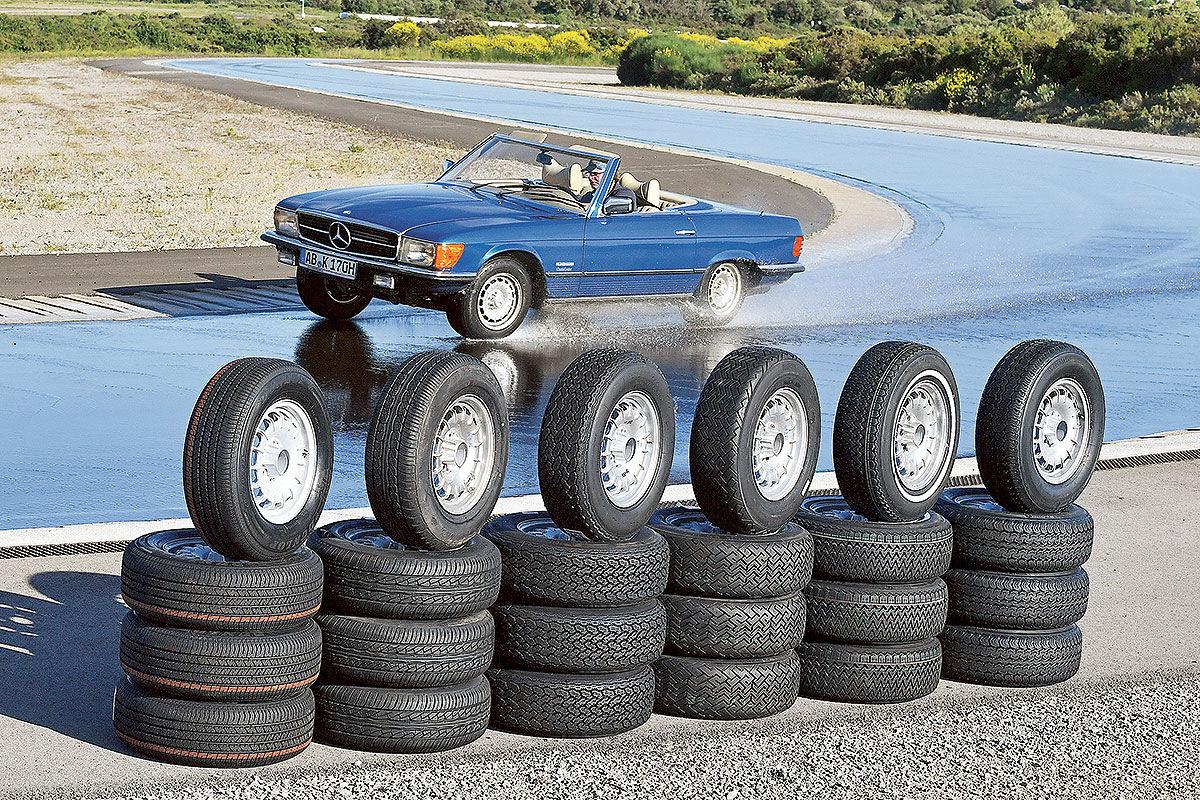Klassik-Reifen im Test