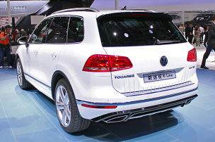 Touareg-Premiere in Peking