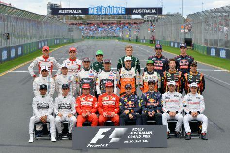 F1-Fahrer 2014